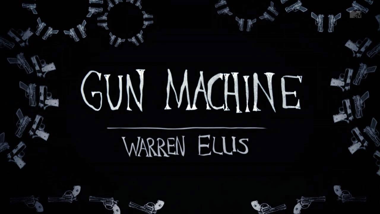 gun machine warren ellis