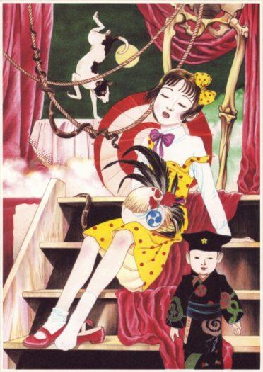 la jeune fille aux camélias image shuehiro maruo