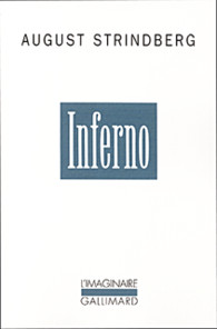 Inferno d'August Strindberg aux éditions Gallimard