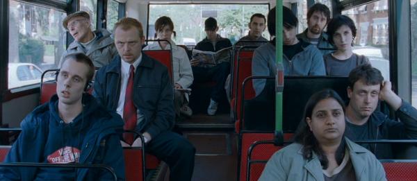"Extrait du film ""Shaun of the Dead"""