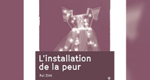 Rui Zink - L'installation de la peur