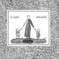 Le couple détestable - Edward Gorey - couverture