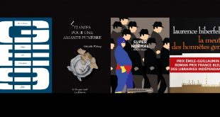 GEnove, Benoît Vincent. Litanies pour une amante funèbre, Gabrielle Wittkop. Supernormal, Robert Mayer. La Meute des honnêtes gens, Laurence Biberfeld.