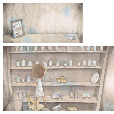 de rêves et d'eau Louyuling Ice Heibai illustration