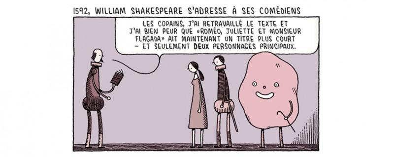 Vous êtes tous jaloux de mon Jetpack - Strip Shakespeare