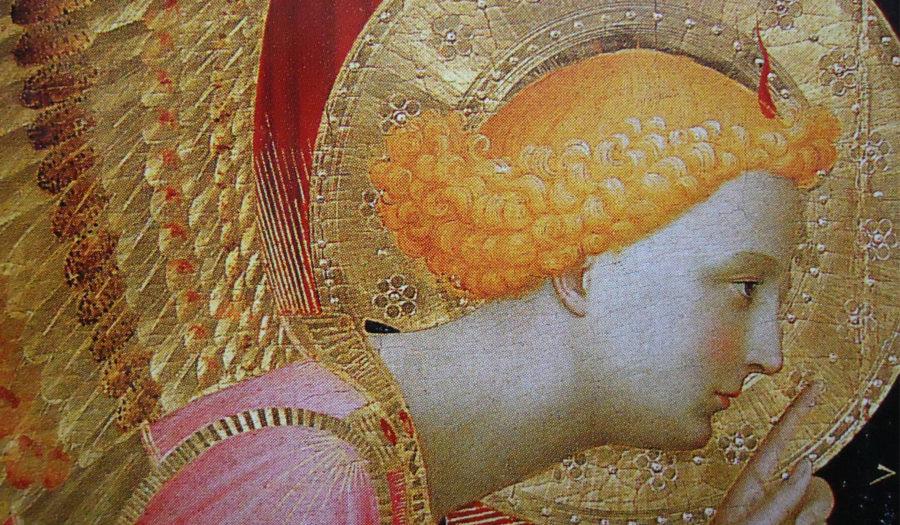 Le Cas Annunziato - détail de Fra Angelico
