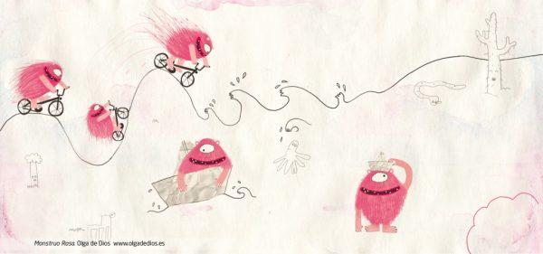 olga de dios monstre rose image