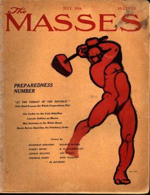 th Masses, John Reed, 1916