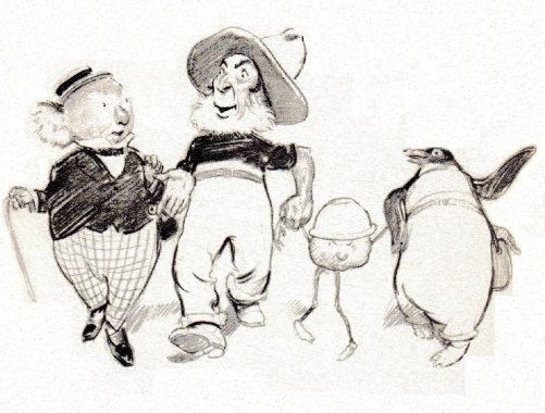 image norman lindsay les aventures de magic pudding