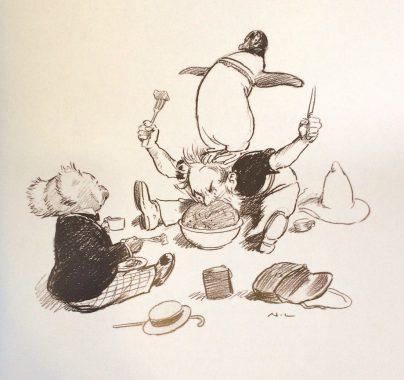 les aventures de magic pudding norman lindsay image