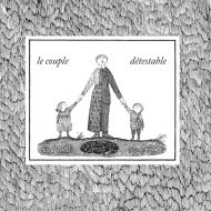 Le couple détestable - Edward Gorey - couverture