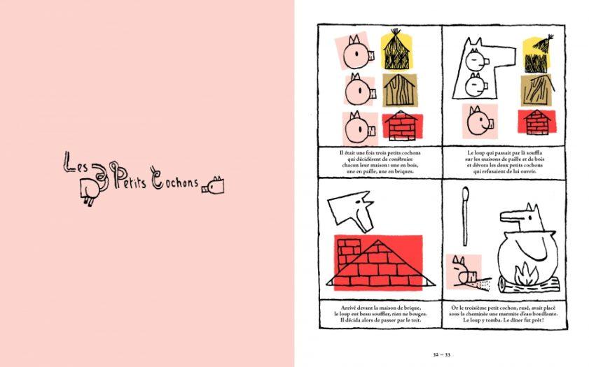 Contes au carré - Trois petits cochons