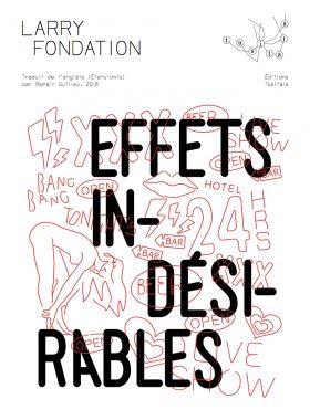 Effets Indésirables - Larry Fondation couverture des éditions Tusitala