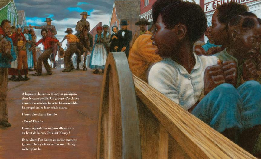 Henry et la liberté Kadir Nelson Ellen Levine