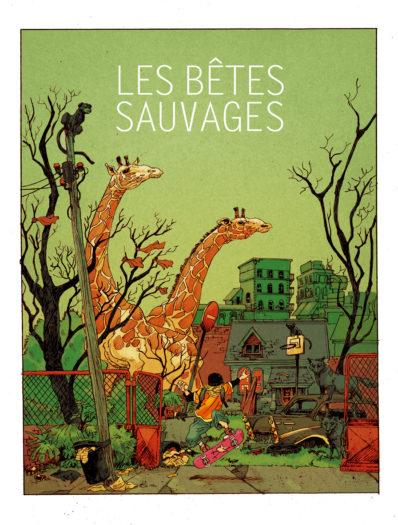 Loïc Godart Les bêtes sauvages