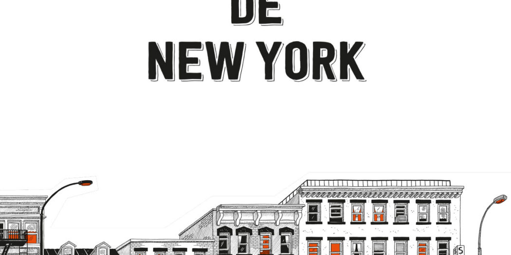 Julia Wertz Les entrailles de New York Couverture