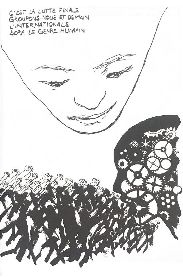 Baudouin image Elise Thiébaut Les fantômes de l'Internationale