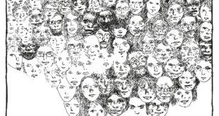 Baudouin couverture Elise Thiébaut Les fantômes de l'Internationale