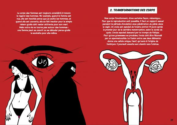 Hshouma corps et sexualité au Maroc image Zainab Fasiki