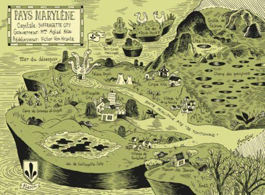 Anne Simon Les contes du Marylène couverture
