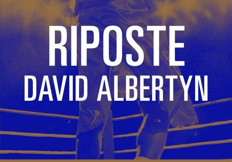 David Albertyn Riposte couverture