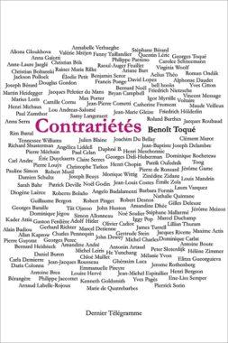 Couverture de Contrariétés de Benoit Toqué