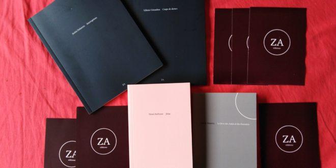 Entretien avec les éditions ZA