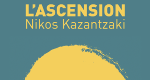 Nikos Kazantzaki L'ascension couverture