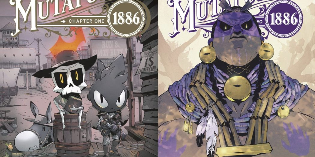 Mutafukaz 1886 Run Hutt couverture