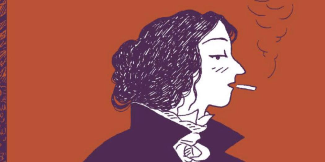 George Sand fille du siècle Séverine Vidal Kim Consigny couverture