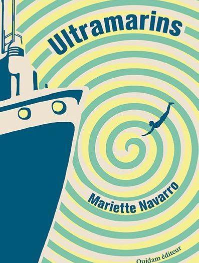 Mariette Navarro Ultramarins couverture